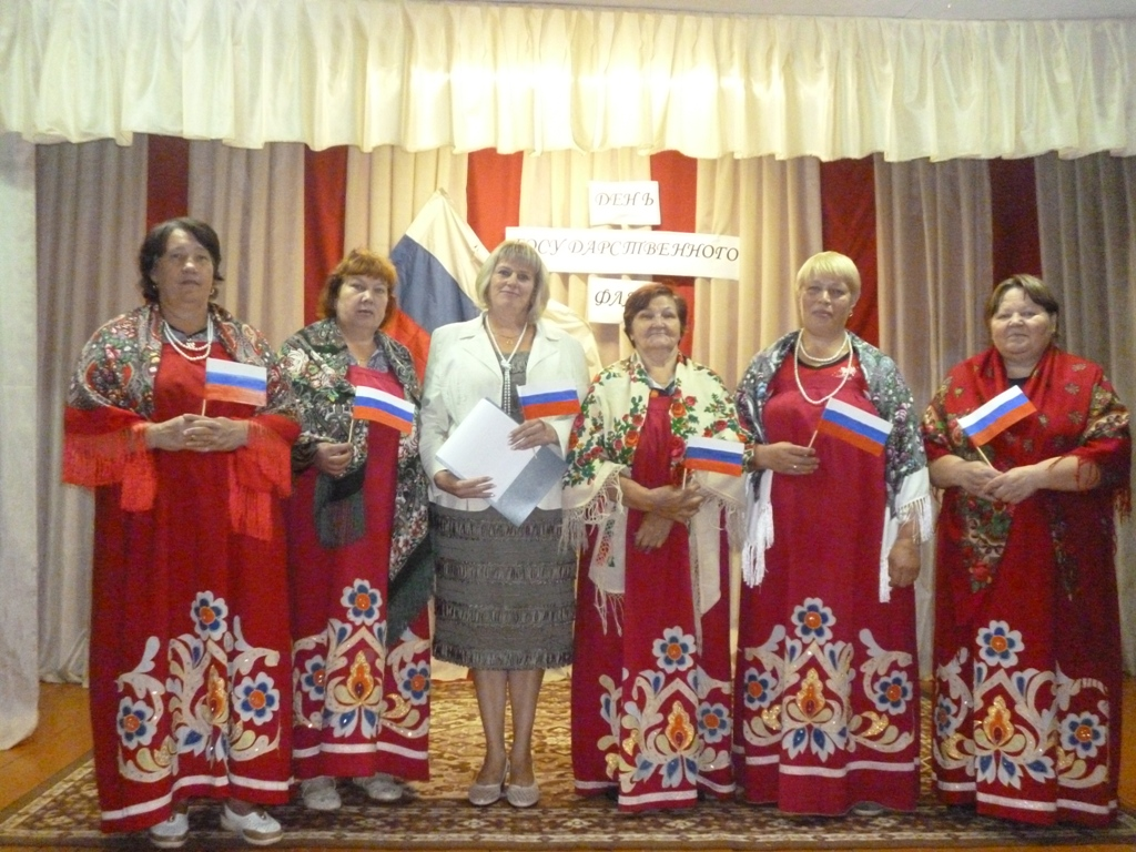 """Вокальная группа """"Деревенька"""" в Лазазейской сельской библиотеке"""