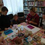 Мастер-класс в Нижегородской сельской библиотеке