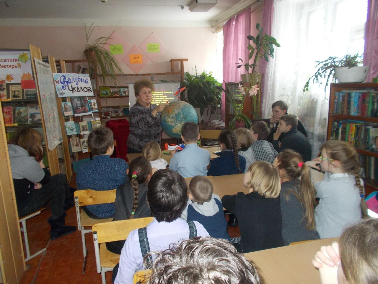 Историко-краеведческий час в Помринской библиотеке
