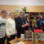 Ветераны афганской войны на выставке в Дубравской сельской библиотеке